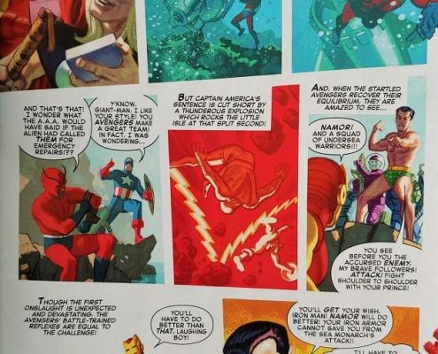 Página Captain America 80 Anniversary Tribute - 04